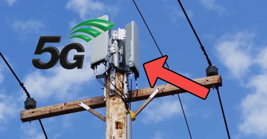 5g antena stub