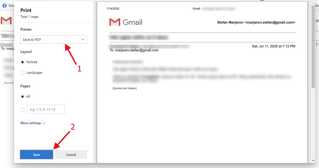 gmail u pdf korak 3