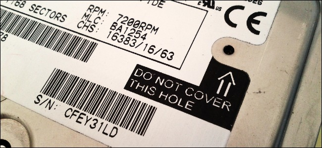 hdd do not cover any holes