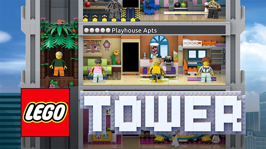 igrice za decu lego tower