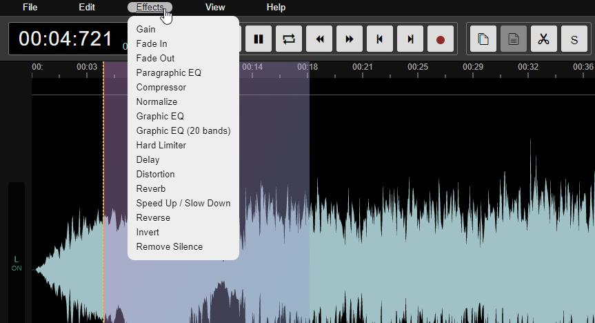 uredjivanje audio fajla online