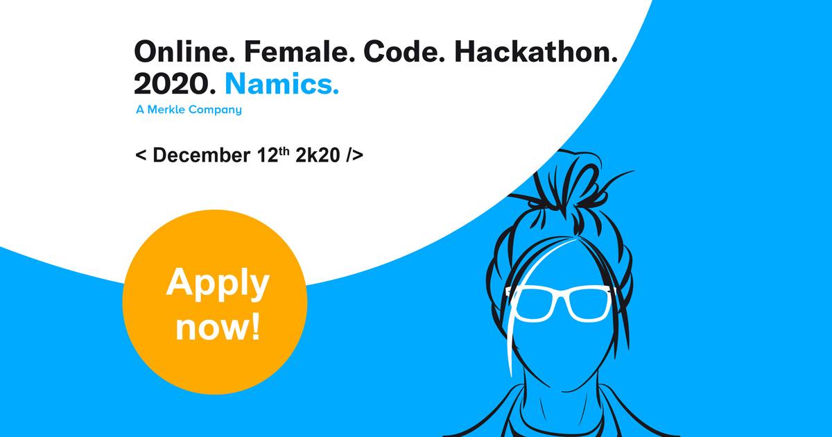 namics hackathon 2020