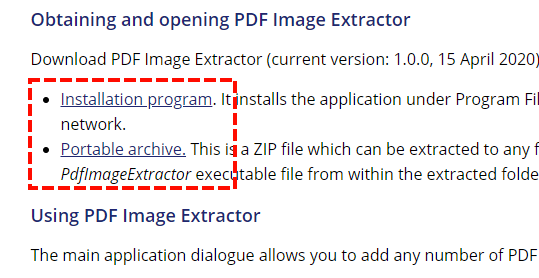 pdf image extractor download