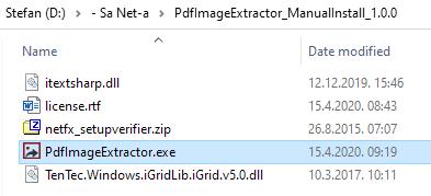 pdf image extractor run