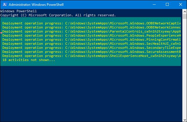 vracanje windows 10 aplikacija
