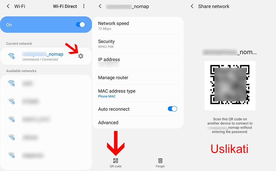kako videti wifi lozinku u telefonu (1)