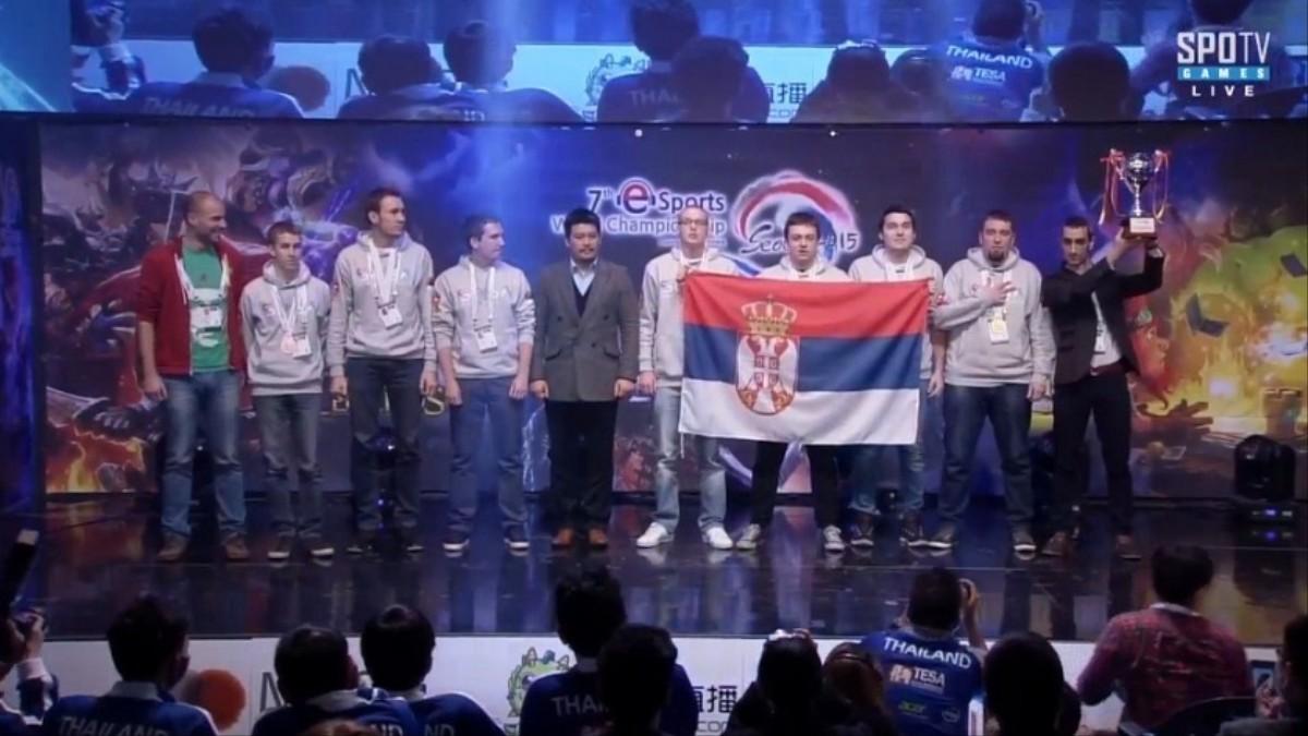 srbija prvak sveta iesf 2015